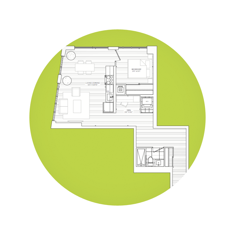 Atypical Floor Plans at Bennett Condos